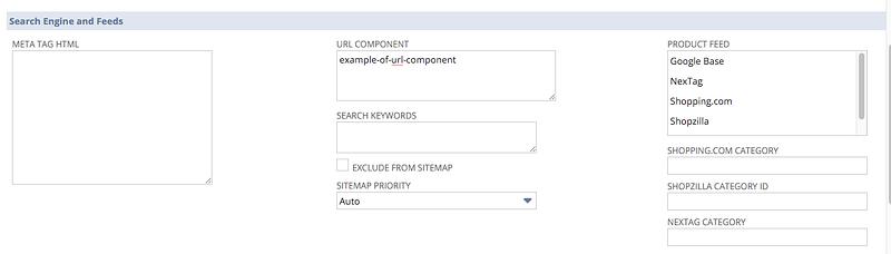 NetSuite SEO netsuite dashboard url component